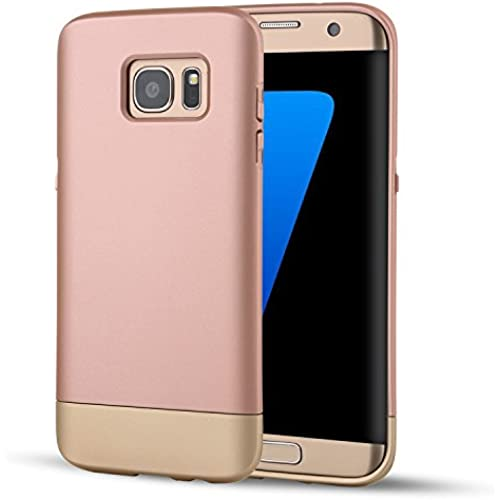 Samsung Galaxy S7 Case, SOUNDMAE Dual Layer Hybrid Microfiber & PC Anti-impact Shockproof Antiskid Splice Nice Touch Case Cover For Samsung Sales