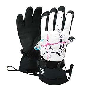 Amazon.com: Lannmart Lovers Ski Gloves Women Men Snowboard
