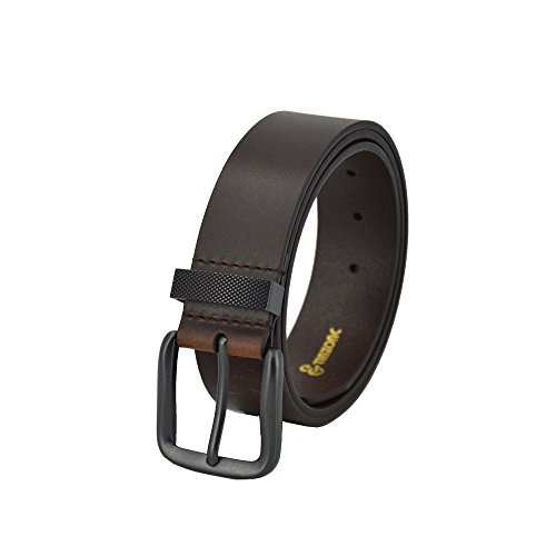 TINZONC Men's 38mm Leather Belt With One Row