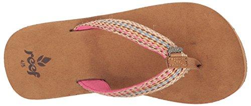 Reef LITTLE GYPSYLOVE - Sandalias de material sintético para niña Varios colores (Brown / Pink)