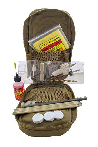 Pro Shot Double Coated Cleaning Rod Kit, Coyote Tan