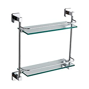 Fine brass Towel rack/the shelf in the bathroom/ double Towel rack-L lovely