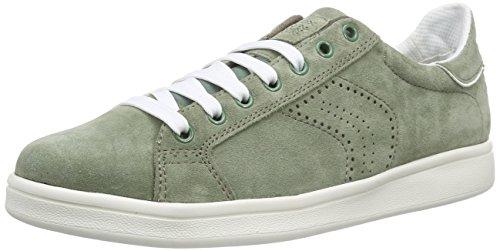 Geox U Warrens B, Sneakers Basses Homme Vert (Mint)