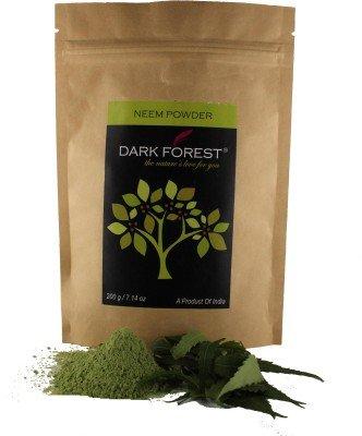 Price comparison product image Ayurvedic Dark Forest Neem Leaf Powder(200 g)