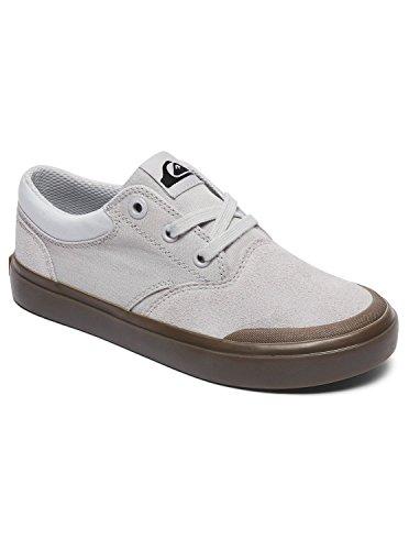 De Quiksilver Verant Garçon Chaussures White Fitness white Xwwc xwwc brown Blanc blanco TTRwxq