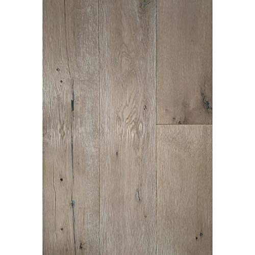 (ADM Flooring - Vintage White - Wide Engineered Hardwood Flooring)