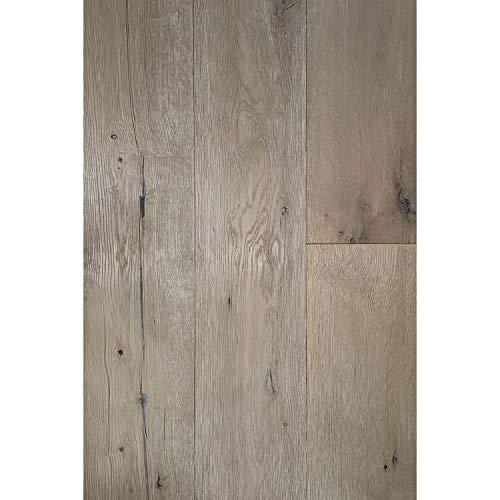 Oak Flooring Engineered White - ADM Flooring - Vintage White - Wide Engineered Hardwood Flooring