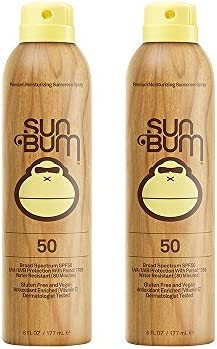 Sun Bum Continuous Spray gstNa Sunscreen, SPF 50 2 Pack