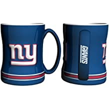 NFL Sculpted Coffee Mug, 15 Ounces