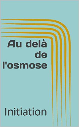Osmose [Pdf/ePub] eBook