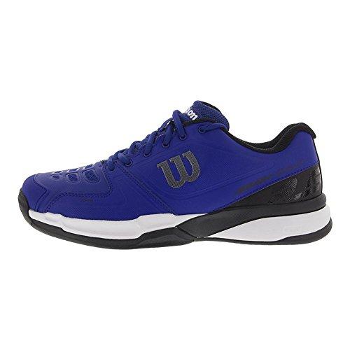 Wilson Uomo`s Rush Comp Scarpe Da Tennis Mazarine Blu E Nero- (wrs323710-s18) Mazarine Blu / Nero / Bianco