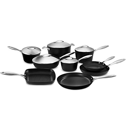 Scanpan Professional 14-piece Cookware Set with Stratanium Nonstick Coating