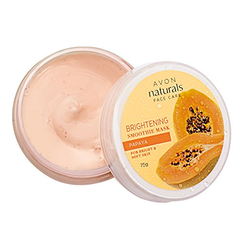 Avon Mask (Avon Brightening Papaya Smoothies Face Mask 75g (23421))