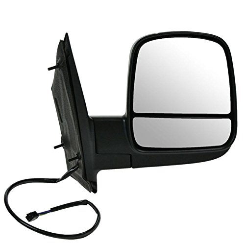 Chevy Express 08-12 Right Rh Mirror Power Heated Fold Black Auto Lighthouse