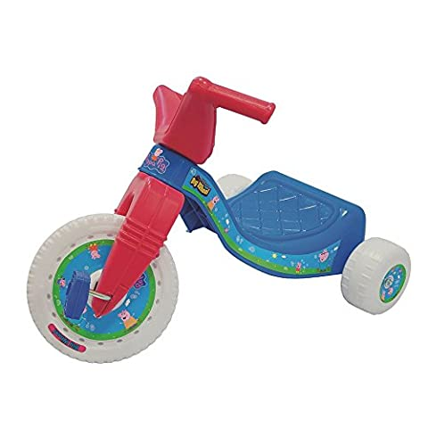 Peppa Pig Big-Wheel Rider Junior Tricycle For Girls To Ride On (Peppa Pig George Boots)