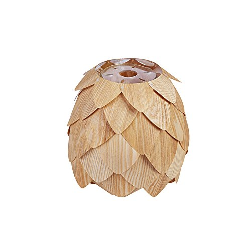 Huarsp B5201704 Fashion Pineapple Wood Veneer Material Shape Chandeliers for Restaurant, Study, Kitchen,Bedroom, etc.Burlywood by Huarsp (Image #9)