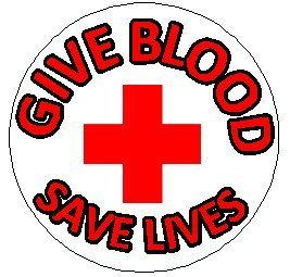 Give Blood - Save Lives 1.25