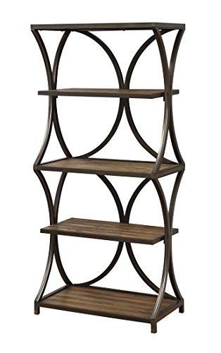Coast To Coast Wood Bookcases Coast To Coast 13648 Hawthorne Bookcase 30 X 64 X 16 Inches Brown Model # 13648