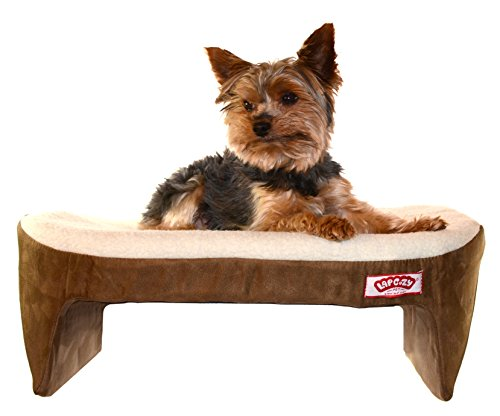 Lap Cozy -Pet Bed for Small Dogs, Cats and Other Small Pets - Base Made in USA (Best Made Designs Llc)