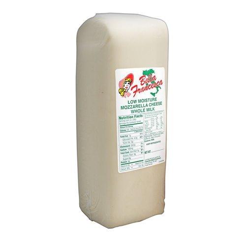 Mozzarella Whole Milk Loaf - Skim Mozzarella Cheese Part