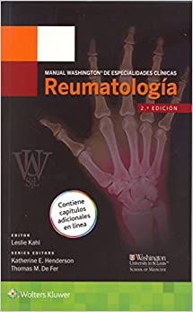 Book Manual Washington de especialidades clinicas. Reumatologia (Manual Washington De Especialidades Clínicas)