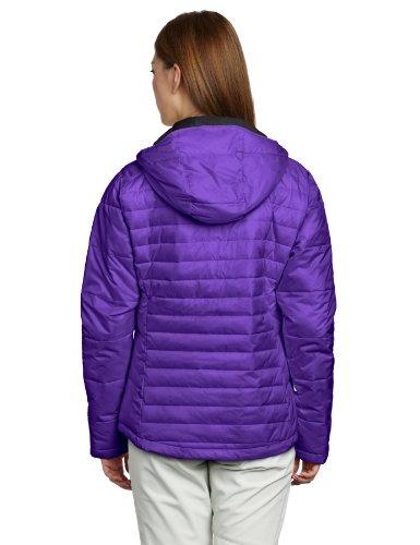 Columbia Women S Powder Pillow Jacket Hyper Purple Large