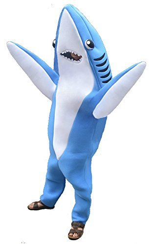 Party Shark Costume (Or, Dolphin?) - Man Party Costumes