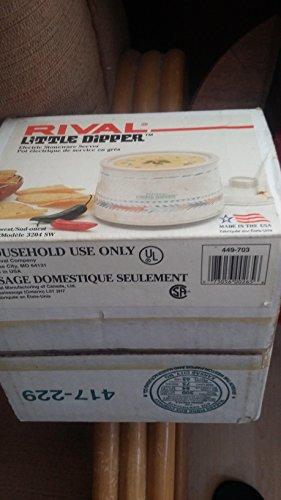 Rival Little Dipper Mini Crock Pot Southwest Style Design by Homedics