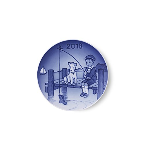 Royal Copenhagen Mothers Day Plate - Bing & Grondahl 1024802 Children's Day Plate 2018