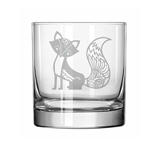 11 oz Rocks Whiskey Highball Glass Fancy (Fox Highball Glass)