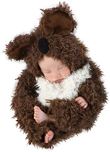 Princess Paradise Baby Anne Geddes Koala, Brown/White, 3-6 Months]()