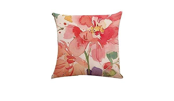 Snakell - Funda de cojín Decorativa para sofá, Cama, Color ...