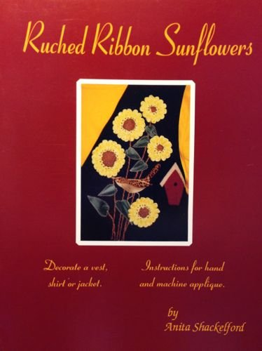 Ruched Ribbon Sunflowers (Pamphlet)