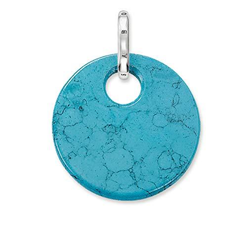 Thomas Sabo PE428-404-17 Pendant Blue Silver Woman – Size (2 2CM)