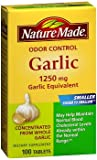 Nature Made Odor Control Garlic Tablets, 1250 mg – 100 ct, Pack of 3 Review