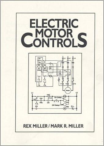 Electric Motor Controls Rex Miller Mark R Miller 9780132493765