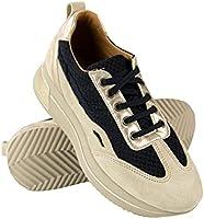 Zerimar Zapatillas Mujer | Zapato Cordones Mujer | Calzado Deportivo Mujer Piel | Zapatos planos de Mujer | Zapatillas Deportivas Piel | Zapatos Casuales Mujer