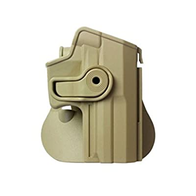 IMI Defense Best Tactical Combo Roto Retention Polymer Paddle Holster + Double Mag Pouch For H&K USP Full-Size (9mm/.40)