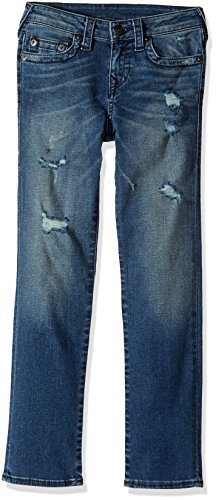 True Religion Boys' Big Geno Single End Jean, Moderate wash 18 (True Religion Boys Jeans)
