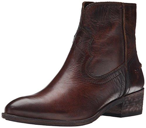 para costura Frye mujeres Botas 75883 de Ray corto las Brown Dark PwOPqXE4n