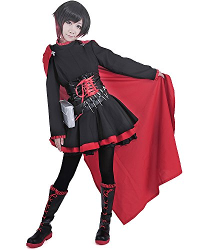 Miccostumes Womens Rose Cosplay Costume product image