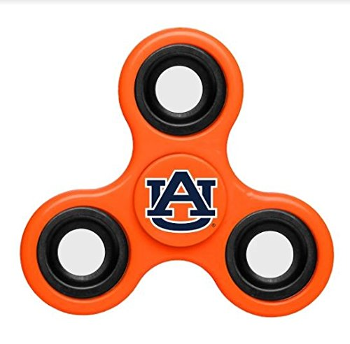 Auburn Tigers Fidget Spinner   Orange Blue