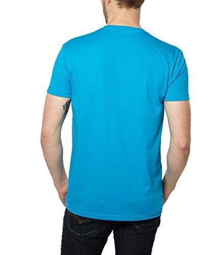 Nayked Apparel Mens Night & Day V-Neck T-Shirt