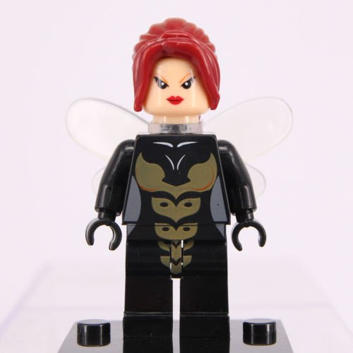 Toy Store - Dc Comics Avengers Marvel Super Hero Building Toy Mini Figure Fit LEGO Avengers Wasp (Y154) - New Arrival