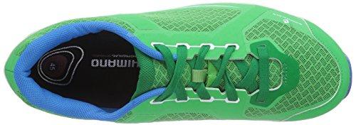 Shimano E-SHCT41G - Zapatillas de Material Sintético para hombre Verde verde (verde) 41