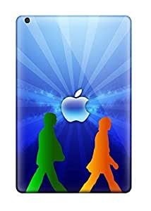 Ipad Mini/mini 2 Hard Back With Bumper Silicone Gel Tpu Case Cover Beatles Iphone 5 by supermalls