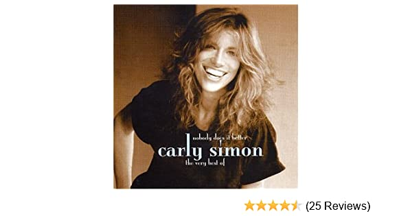 Carly Simon - The Very Best of Carly Simon: No Does it Better ...