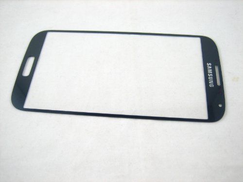 For Samsung Galaxy S4 SIV GT-i9500 i9505 Black ~ Front Glass (no Display Screen) ~ Mobile Phone Repair Part Replacement
