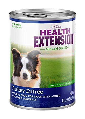 Health Extension Grain Free Turkey Entree 13.2-ounces, Case 12 by Health Extension