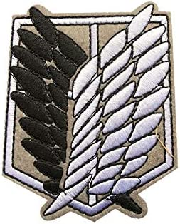 Patches Cartoon Giant Investigation Team Free Wing Iron On Anime Attack On Titan Embroidered Clothes Diy Patch For Clothing Girls Boys Amazon Ca Tools Home Improvement